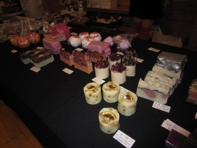 Craft Fair Soap